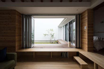 フィルターハウス: 窪江建築設計事務所が手掛けた庭です。
