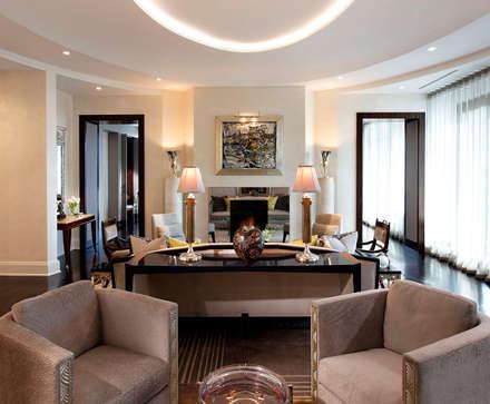 Living Room: classic Living room by Douglas Design Studio
