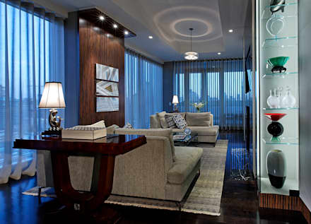 den classic living room by douglas design studio den living10 den
