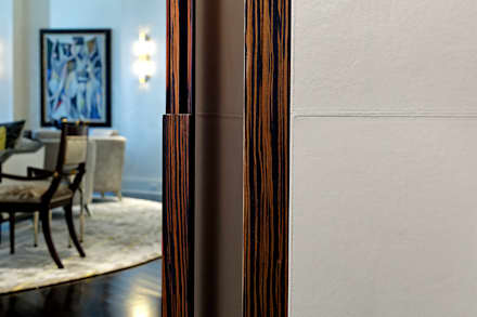 Trim Detail:  Corridor & hallway by Douglas Design Studio