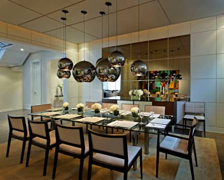 Dining Room: modern Dining room by Douglas Design Studio