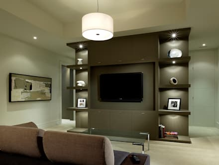 Media Room: modern Media room by Douglas Design Studio