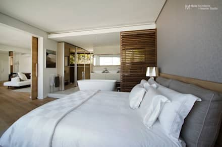 Clifton Apartment: modern Bedroom by Make Architects + Interior Studio