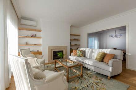 Sala de Estar: Salas de estar modernas por Stoc Casa Interiores