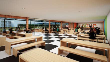 Colegio - Bogotá: Comedores de estilo moderno por Arquitectura y Diseño Digital