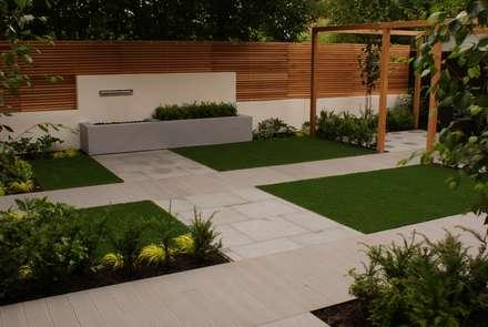garden design didsbury modern garden by hannah collins garden design - Garden Designs Ideas