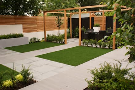 garden design didsbury modern garden by hannah collins garden design - Garden Designs Ideas