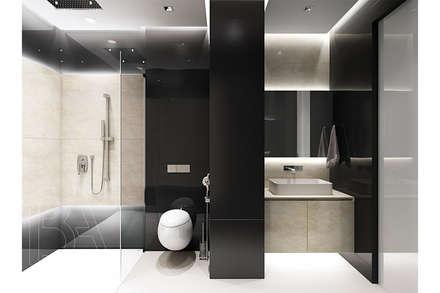 SOFT LOFT: Ванные комнаты в . Автор – BOOS architects
