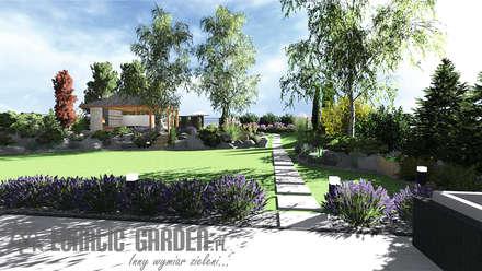 Projekt ogrodu: styl , w kategorii Ogród zaprojektowany przez Lunatic Garden