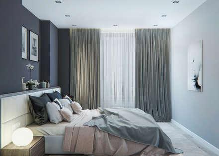 Спальня: Спальни в . Автор – OM DESIGN