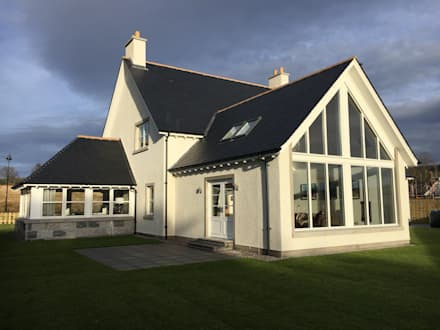 Plot 2 Durward Gardens, Kincardine O'neil, Aberdeenshire: modern Houses by Roundhouse Architecture Ltd