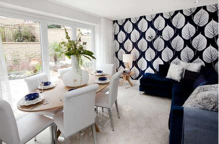 Make every room a new adventure.....: modern Dining room by Graeme Fuller Design Ltd
