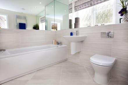 Make every room a new adventure.....: modern Bathroom by Graeme Fuller Design Ltd