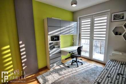 Pokoje młodzieżowe: styl , w kategorii Pokój dziecięcy zaprojektowany przez MARTA PAWLAK  ARCHITEKTURA  WNĘTRZ