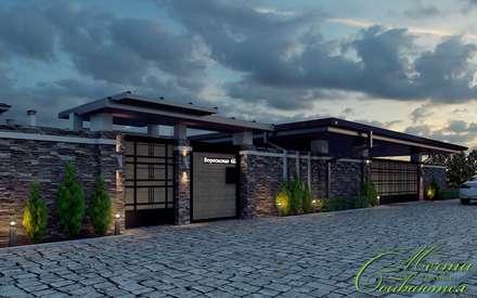 Дом в стиле Ориент: Дома в . Автор – Компания архитекторов Латышевых 'Мечты сбываются'