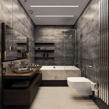 industrial Bathroom by homify