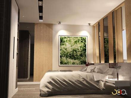 ม.รอยัล วิลล่า:  ห้องนอน by jcia co.,ltd