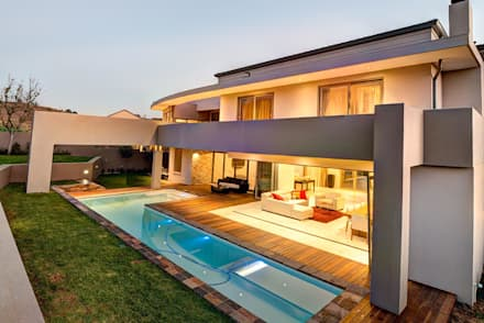 House Fyfe: modern Houses by Swart & Associates Architects