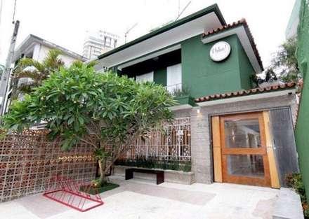 Restaurante Obba Gastronomia: Espaços comerciais  por TR3NA Arquitetura