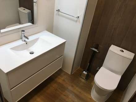 mediterranean Bathroom by Obras & Detalhes, Engenharia e Construção