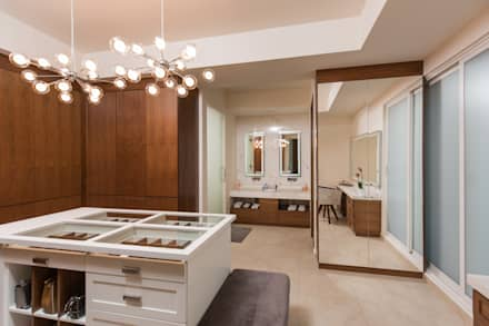 Phòng thay đồ by TAMEN arquitectura