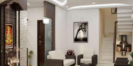 Marvellous: classic Living room by Premdas Krishna
