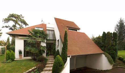 Maison Chennevières-sur-Marne: Maisons de style de style Moderne par Daniel architectes