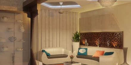 Glorious: classic Living room by Premdas Krishna