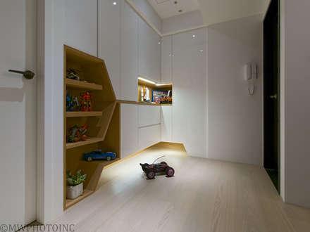 scandinavian Bedroom by 藻雅室內設計