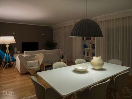 modern Dining room by MUDA Home Design