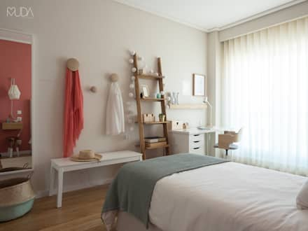 modern Bedroom by MUDA Home Design