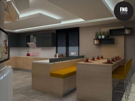 FNG DESIGN – FNG DESIGN: modern tarz Mutfak