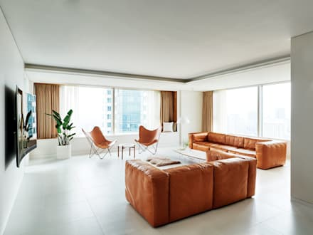 Modern Living Room By 히틀러스플랜잇