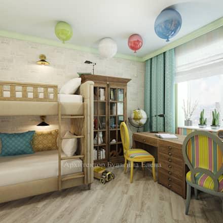 classic Nursery/kid's room by Архитектурное Бюро Капитель