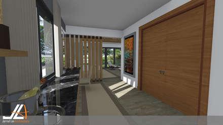 Craighall Park Residence: modern Dressing room by JLA - Jarrod Len Architecture