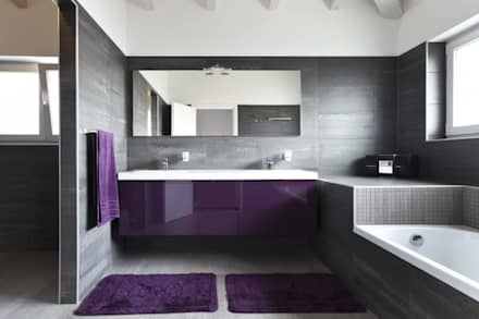 DAYAL Mimarlık – BANYO: modern tarz Banyo