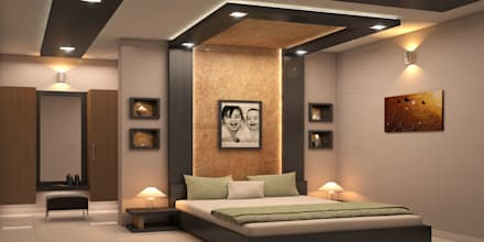 modern bedroom by monnaie architects interiors - Bedrooms Interior Design Ideas