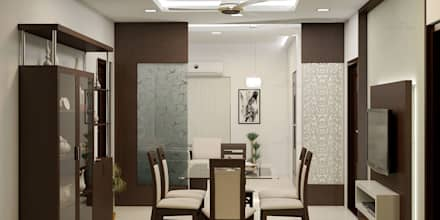 : modern Dining room by Monnaie Architects & Interiors