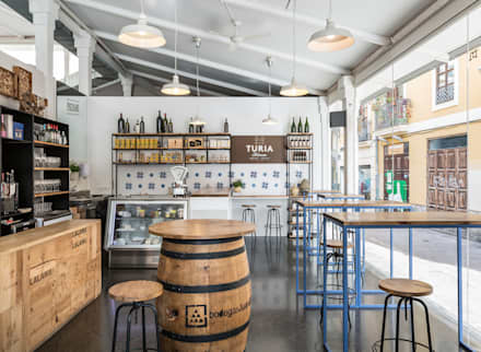 industrial Wine cellar by GLOBO ESTUDIO