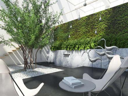 Зимний сад: Зимние сады в . Автор – background архитектурная студия