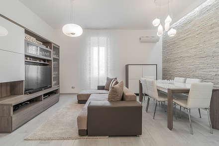 Soggiorno idee immagini e decorazione homify - Ingresso soggiorno cucina ambiente unico ...