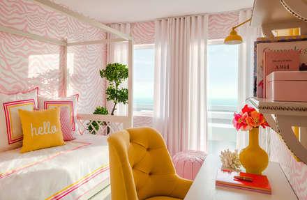 Beach House: Quartos modernos por Prego Sem Estopa by Ana Cordeiro