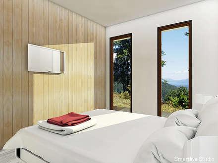 Dormitorio principal : Dormitorios infantiles de estilo rural por Smartlive Studio