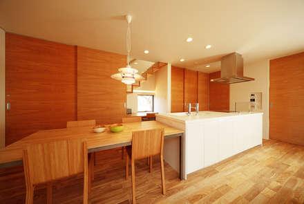 haus-kaap: 一級建築士事務所hausが手掛けたキッチンです。