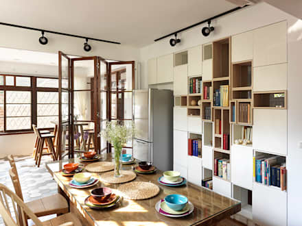 有涯齋:  餐廳 by 築築空間