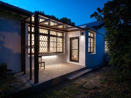 有涯齋:  住宅 by 築築空間