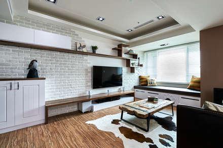 غرفة المعيشة تنفيذ 青瓷設計工程有限公司