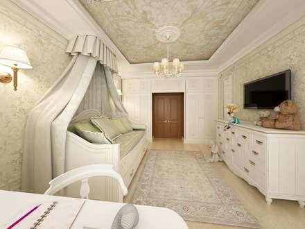 Разбавим будни итальянской классикой : Детские комнаты в . Автор – Дизайн-бюро Анны Шаркуновой 'East-West'