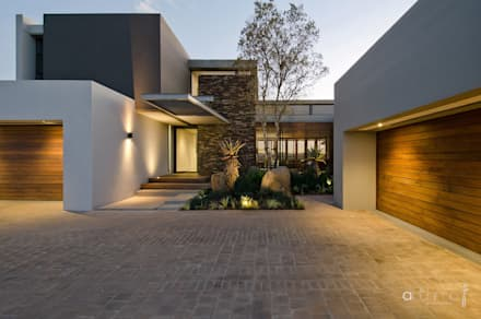 House nel modern houses by anthrop architects