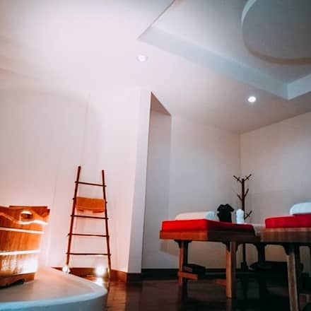Bamboo spa and little dimsum:  โรงพยาบาล by  good space  plus interiror- architect co.,ltd